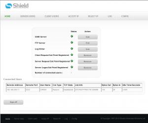 FTP Guard4i Status