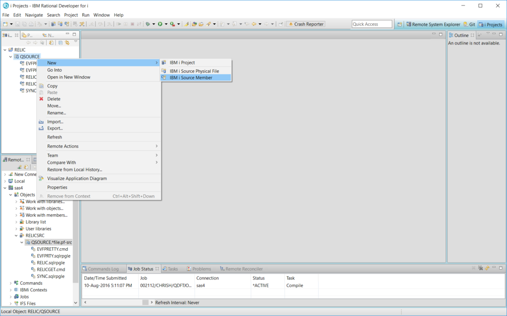 Add new member in Project view