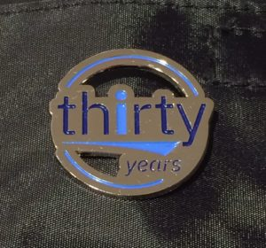 Got the Badge…  IBM i 30 Year Anniversary – Happy Birthday AS/400